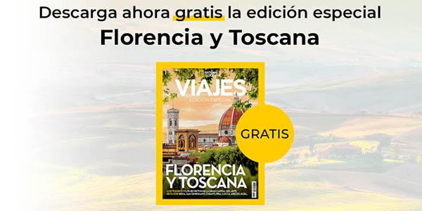 Viajes de National Geographic número especial de la Toscana gratis