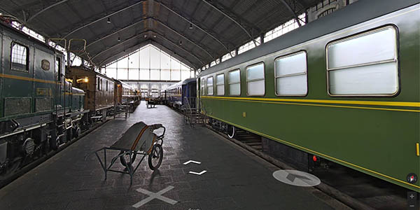 visita virtual al museo del ferrocarril