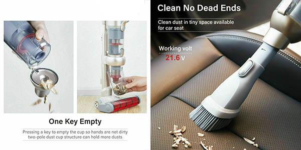 Xiaomi Jimmy JV71 aspirador vertical inalámbrico oferta