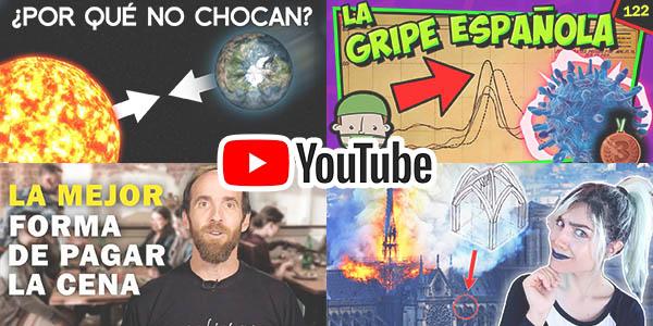 Canales divulgación en Youtube