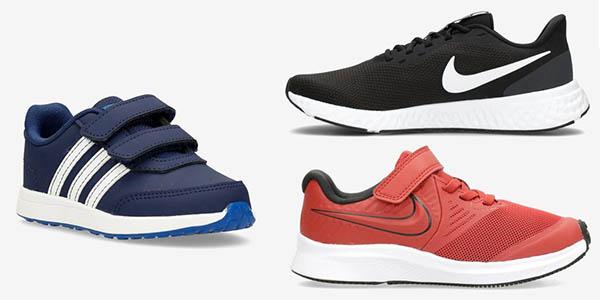 zapatillas Sprinter chollos marcas Nike, Fila Adidas