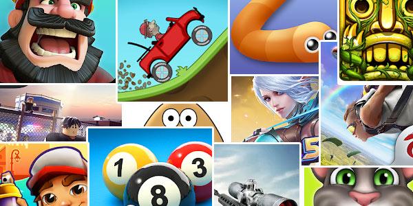 Los 20 juegos más descargados en Android de la historia