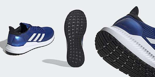 Adidas Solar Blaze zapatillas de running con cupón descuento chollo