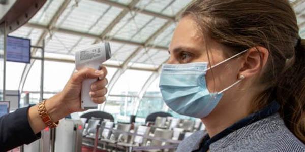 Air France control de temperatura pasajeros por el coronavirus