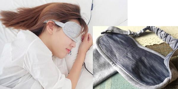 Mascarilla Xiaomi Mijia 8H para dormir chollo en AliExpress