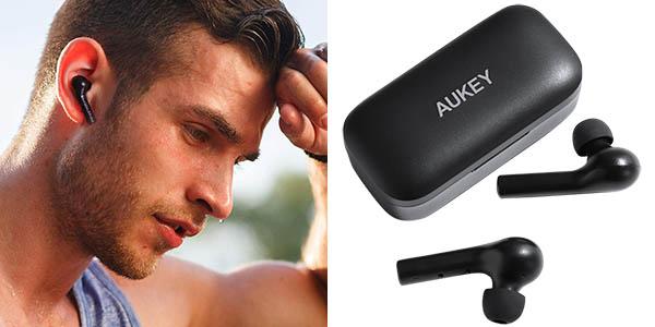 Auriculares Bluetooth Aukey EP-T21 In-Ear con estuche de carga