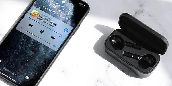 Auriculares Bluetooth Aukey EP-T21 In-Ear con estuche de carga baratos