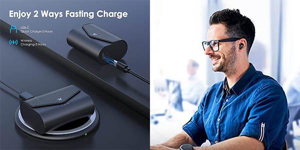 Auriculares Bluetooth Axloie ET10 en Amazon