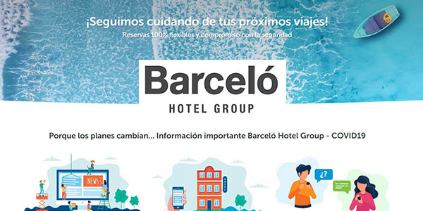 Barceló Hotel Group medidas post-covid-19
