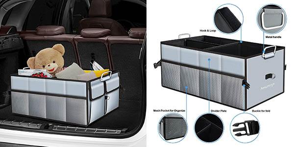 caja organizadora para el maletero del coche Amumuyx chollo
