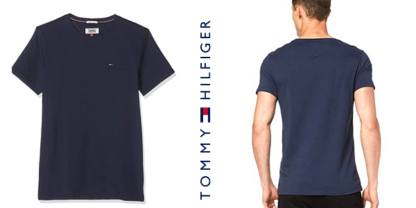 Camiseta Tommy Hilfiger Regular para hombre chollo en Amazon