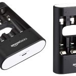 Cargador de pilas AmazonBasics rápido por USB barato en Amazon