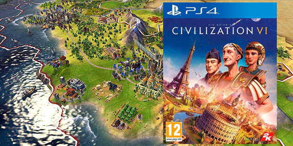Sid Meier's Civilization VI para PS4