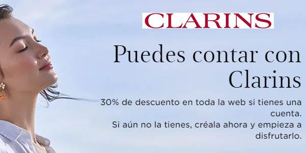 Clarins productos rebajados en promoción Fidelidad