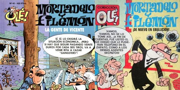 Colección OLÉ precios pesetas