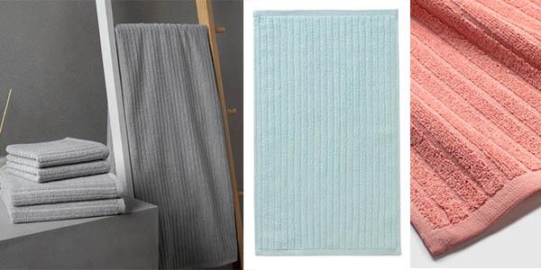 conjunto toallas para el baño Pana oferta
