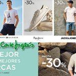 El Corte Inglés promoción en ropa de hombre Tommy Hilfiger, Lacoste y primeras marcas