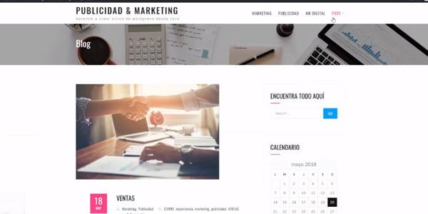 Cre página webs en una semana con el curso gratis de WordPress en Udemy