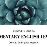 Curso gratis Elementary English Level 1 en Udemy