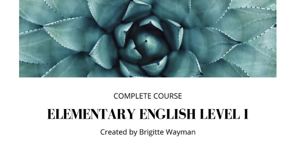 Curso gratis Elementary English Level 1 en Udemy