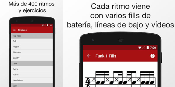 Descarga Drum School gratis para Android por tiempo limitado