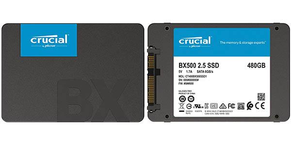 Chollo Disco SSD Crucial BX500