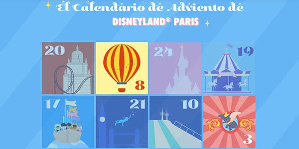 Disneyland Paris calendario de adviento gratis