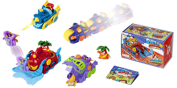 Display de figuras Superzings de la Serie 5 Skyracers chollo