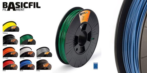 Filamento pla para impresoras 3D Basicfil barato en Amazon