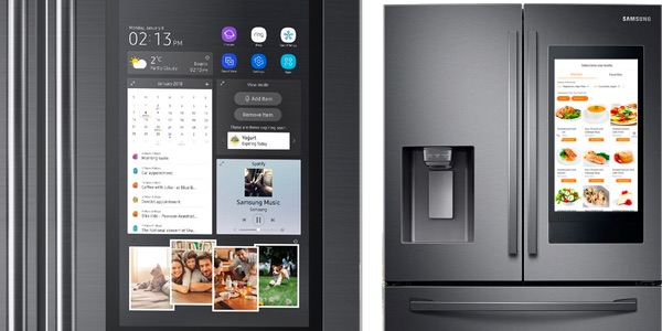 Samsung Side by Side Family Hub