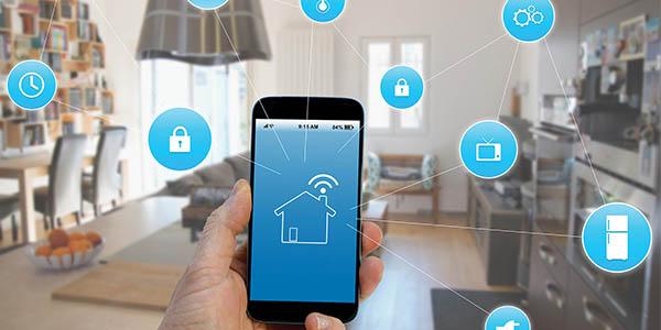 Conexión entre dispositivos domóticos