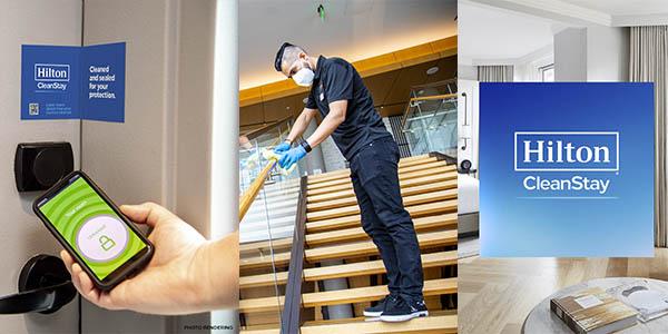 Hilton Clean Stay medidas de seguridad hoteles
