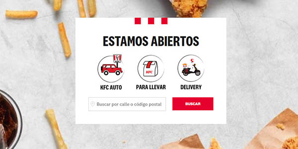 KFC Megabox oferta delivery