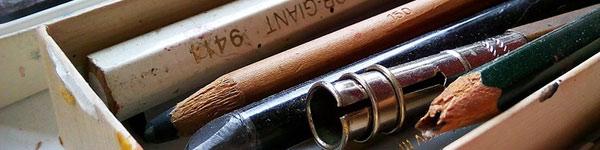 Lápices baratos para aprender a dibujar