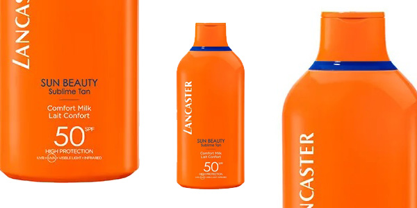 Leche corporal Lancaster Sun Beauty Sublime SPF 50 de 400 ml barata en Druni