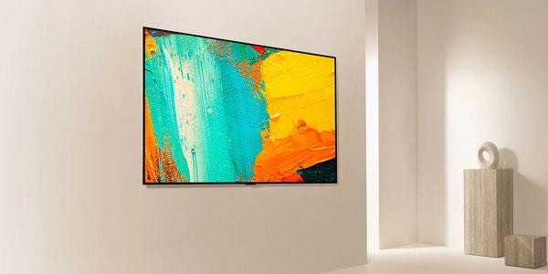 tele con diseño de cuadro minimalista