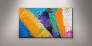 LG OLED GX galeria de arte