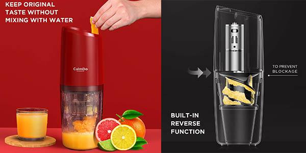 licuadora de prensado de frutas CalmDo PJ801 chollo