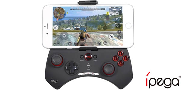 Controlador Bluetooth IPega PG-9025 para Android, iOS o Windows