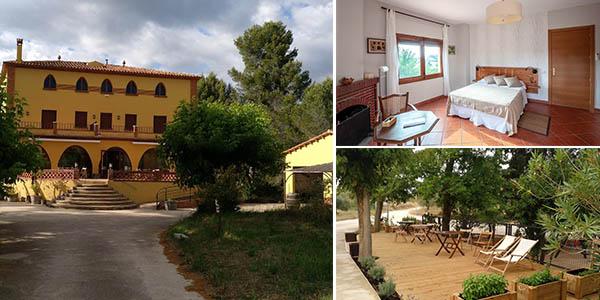 Mas Trucafort en Tarragona aojamiento económico para el verano con cancelación gratis