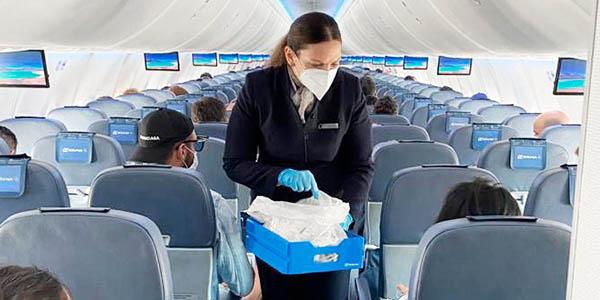 medidas de seguridad aerolíneas para los vuelos post-coronavirus