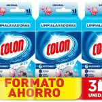 Megapack x3 Colon Limpialavadoras de 250 ml/ud barato en Amazon