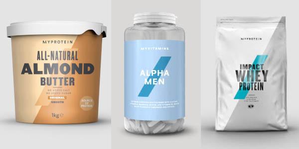Myprotein rebajas de mayo código descuento en productos de nutrición