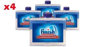 Pack x4 Finish Limipiamáquinas Líquido de 250 ml/ud barato en Amazon