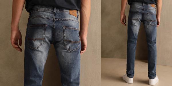 Pantalones Vaqueros Green Coast slim para hombre chollazo en El Corte Inglés