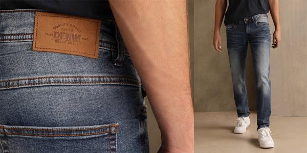 Pantalones Vaqueros Green Coast slim para hombre baratos en El Corte Inglés
