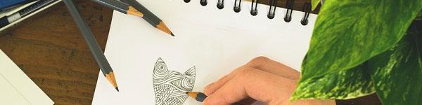 Papeles de dibujo para carboncillo o acuarela
