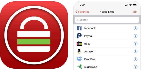 Password Safe iPassSafe descargar gratis iOS