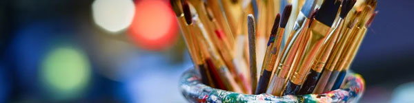 pinceles artísticos baratos en Amazon