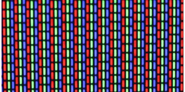 trama de píxeles de un televisor